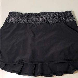 Black Lululemon Skirt Size 4